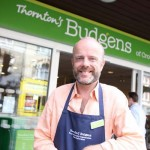 Andrew Thornton Manager of Budgen's Couch End