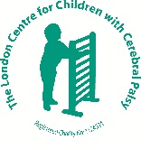 London Centre for Children with Cerebral Palsy Logo