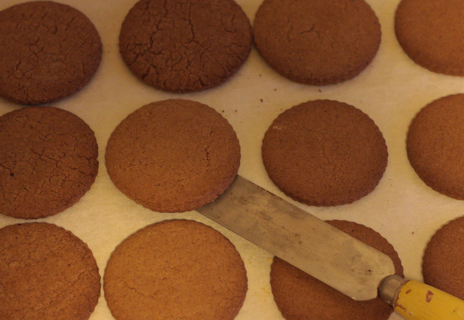 Dutch speculaas biscuits