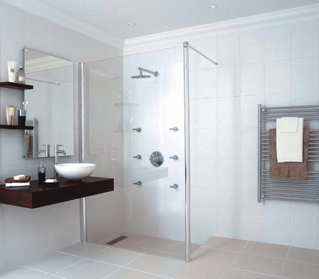 Wet rooms becky beach for Bathroom design and installation stockport