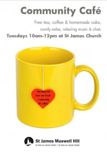 Community Cafe at St James Muswell Hill