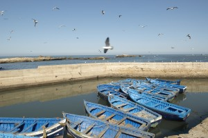 boats in Morocco