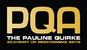 logo for Pauline Quirke academy