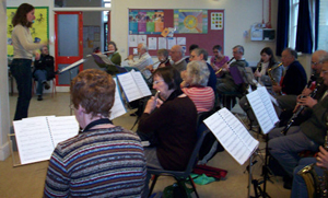 brass band practice