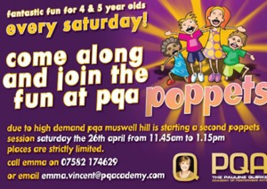 Poppets at PQA