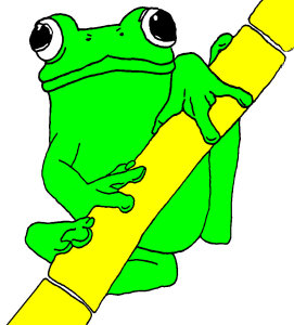Frog for Buzz