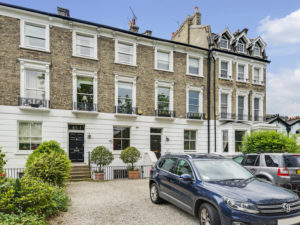Georgian house for sale in Highgate