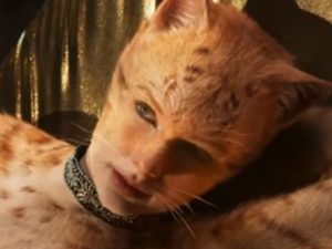 Woman dressed as a cat (Film Character)