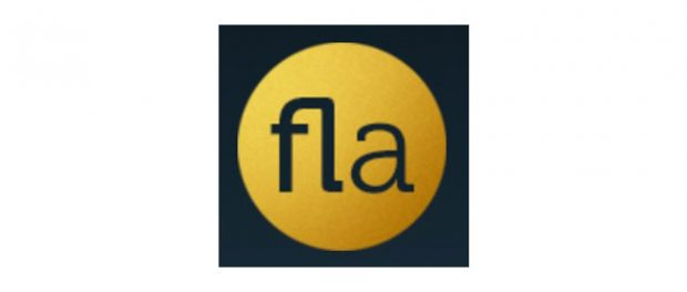 Black and yellow logo of Family Law Associates