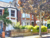 Edwardian residence for sale; view from street