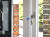 windows and doors shown with security locks