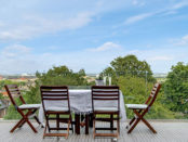 View from balcony (including patio furniture) over London from Property for Sale by Tatlers